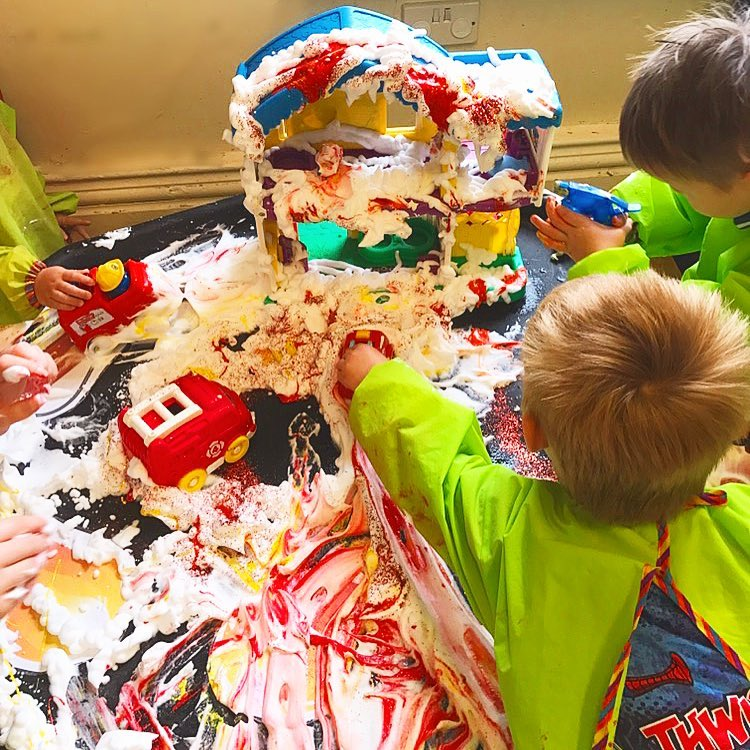 messy play pines nursery
